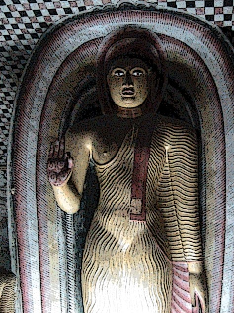 standing buddha (dam)