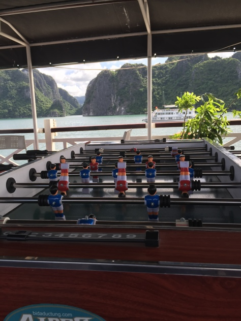 foosball on skull island